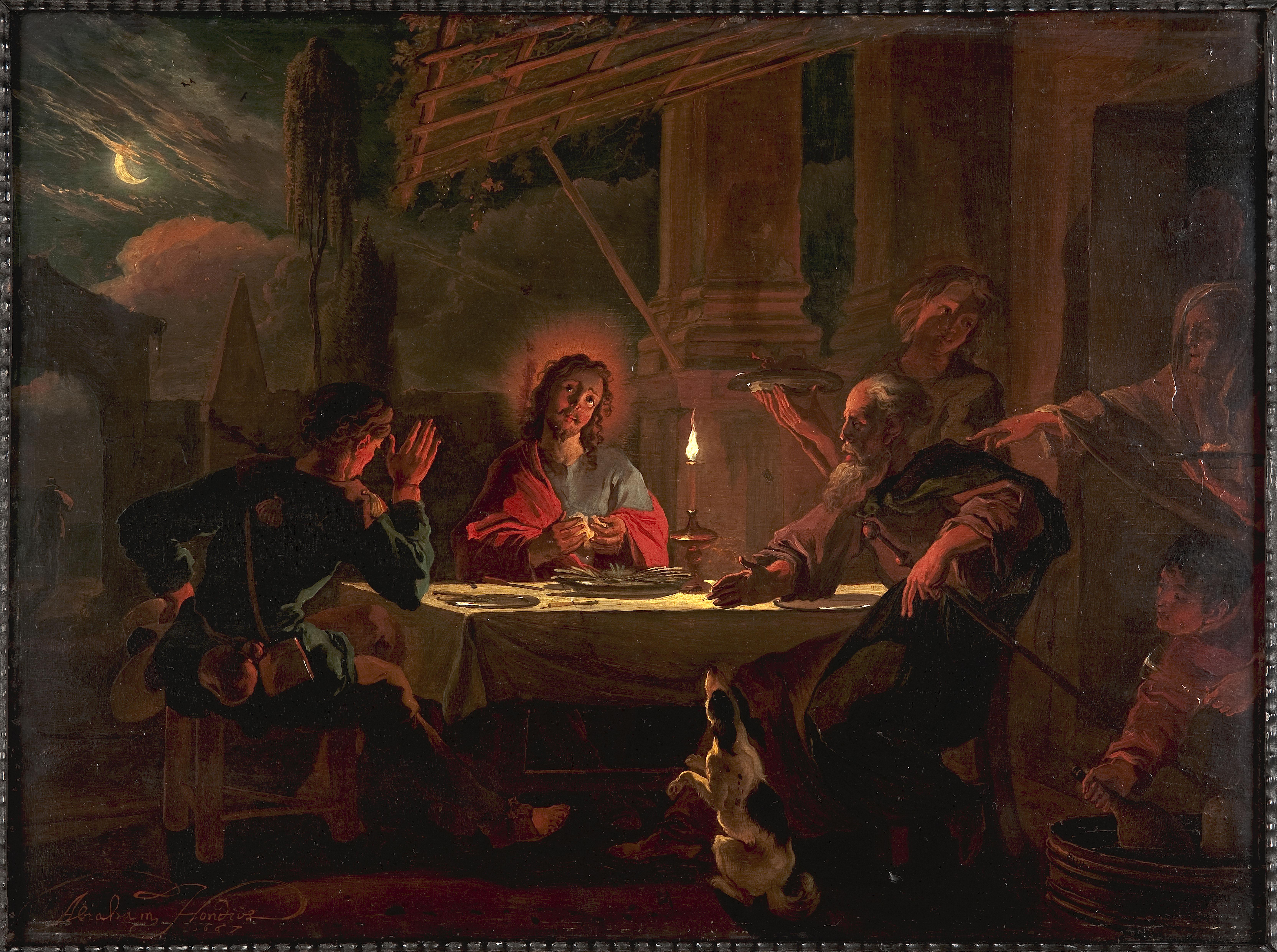 Christus in Emmaüs