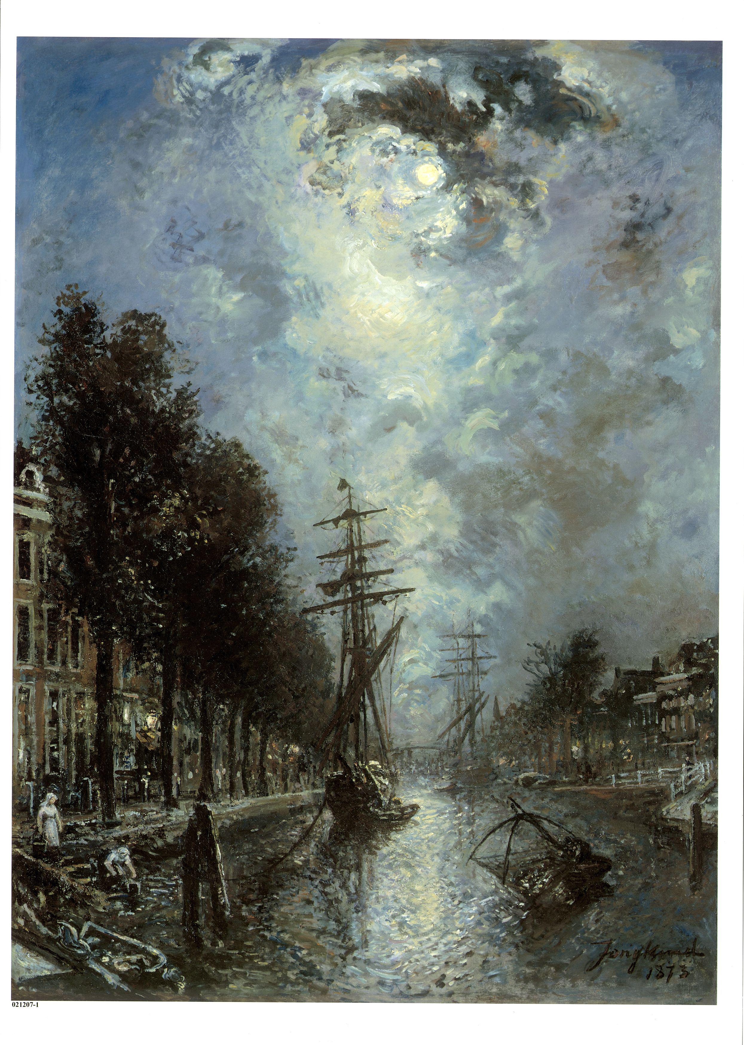 Stadsgezicht Rotterdam: Canal à Rotterdam