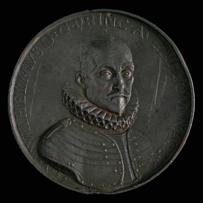 Penning op de aanbieding aan prins Willem I van de Hoge Overheid, 1575