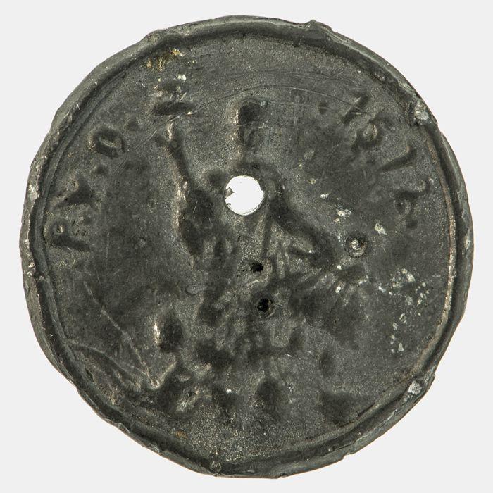 Penning op het derde eeuwfeest van de inname van Den Briel