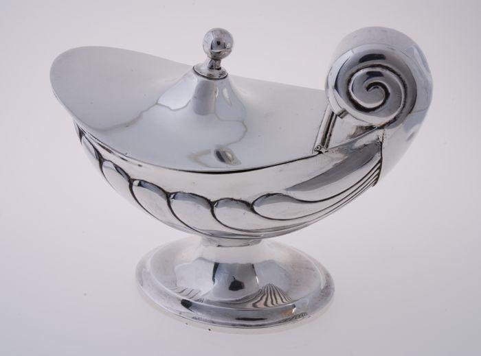 Zilveren wierookscheepje
