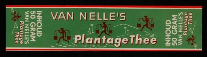 Groen label VAN NELLE'S PLANTAGE THEE, 50 gram