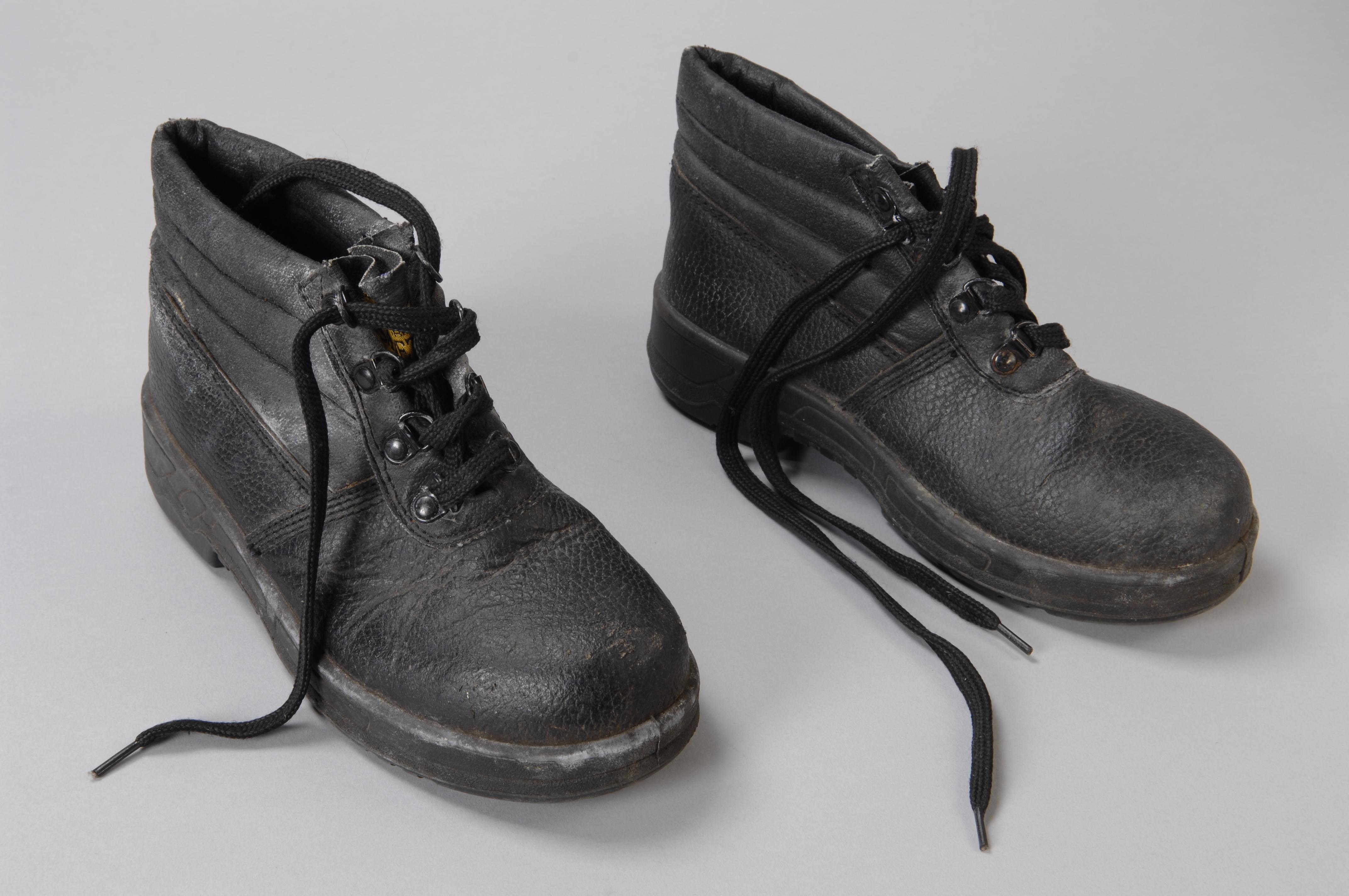 Werkschoenen Rotterdam.Collectiestuk Zwarte Werkschoenen Maat 36 Van Bulgaarse
